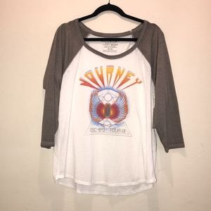 NWT. Lucky Brand JOURNEY graphic tee. size XL